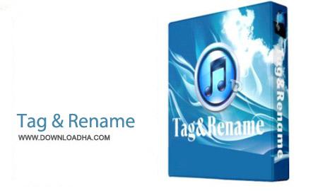 Tag%26Rename%203.9.1 نرم افزار تغییر مشخصات فایل های مدیا Tag&Rename 3.9.1
