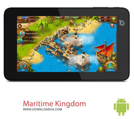 Maritime Kingdom v1.1.63 بازی شهرسازی Maritime Kingdom v1.1.63 مخصوص اندروید