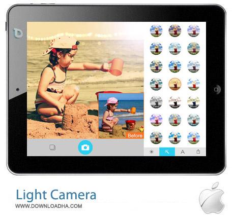 Light Camera 1.2 نرم افزار لذت عکاسی Light Camera Pro v1.2.0 مخصوص آیفون ، آیپد و آیپاد