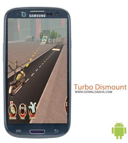 Turbo Dismount v1.13.1 بازی شبیه ساز تصادف Turbo Dismount v1.13.1 مخصوص اندروید