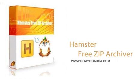 Hamster Free ZIP Archiver 3.0.0.86 نرم افزار مدیریت فایل های فشرده Hamster Free ZIP Archiver 3.0.0.86