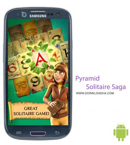 Pyramid Solitaire Saga v1.26.1 بازی معمایی هرم Pyramid Solitaire Saga v1.26.1 مخصوص اندروید