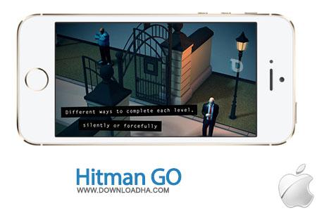 Hitman%20GO%201.11 بازی فکری هیتمن Hitman GO 1.11.2 مخصوص آیفون ، آیپد و آیپاد