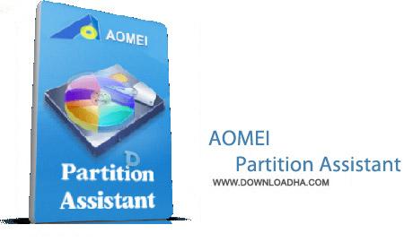 AOMEI Partition Assistant Standard Edition 5.6.3 نرم افزار پارتیشن بندی هارد AOMEI Partition Assistant Standard Edition 5.6.3
