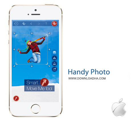 Handy Photo 2.2 نرم افزار ویرایش تصاویر Handy Photo v2.2.0 مخصوص آیفون و آیپد