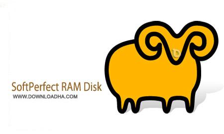 SoftPerfect RAM Disk 3.4.6 نرم افزار استفاده از هارد دیسک به عنوان حافظه رم SoftPerfect RAM Disk 3.4.6