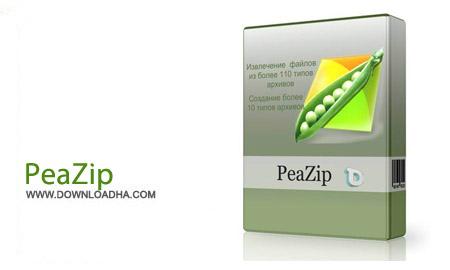 PeaZip%205.7.0 نرم افزار فشرده سازی فایل ها PeaZip 5.7.0