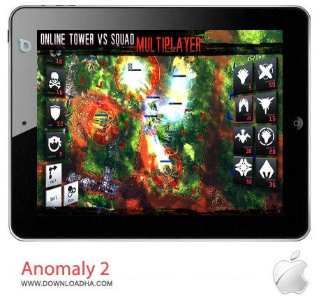 Anomaly 2 1.3 بازی استراتژیکی Anomaly 2 v1.3.1 مخصوص آیفون ، آیپد و آیپاد