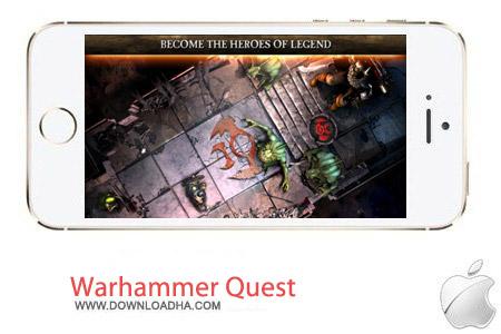 Warhammer Quest 1.29 بازی جنگی Warhammer Quest v1.29 مخصوص آیفون ، آیپد و آیپاد