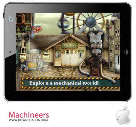 Machineers 1.1 بازی معمایی Machineers v1.1 مخصوص آیپد