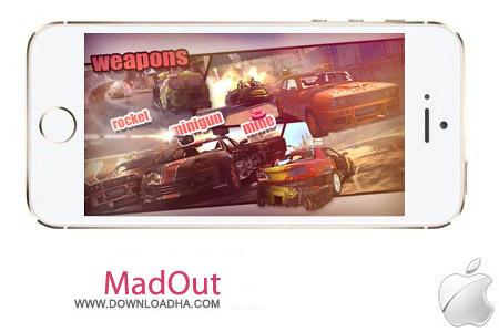 MadOut 6.0 بازی ماشینی MadOut v6.0 مخصوص آیفون ، آیپد و آیپاد