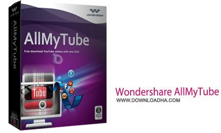 دانلود از سایت های اشتراک گذاری ویدئو Wondershare AllMyTube 12.1.1.4