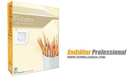 EmEditor%20Pro%2015.2.2 نرم افزار ادیت حرفه ای متون Emurasoft EmEditor Pro 15.2.2