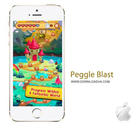 Peggle Blast 2.0 بازی پازل Peggle Blast v2.0 مخصوص آیفون ، آیپد و آیپاد