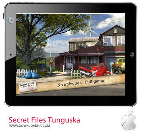 Secret Files Tunguska 1.1 بازی ماجراجویی Secret Files Tunguska v1.1.3 مخصوص آیفون ، آیپد و آیپاد