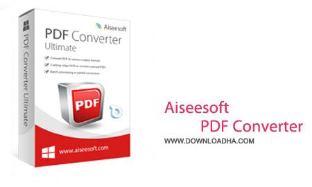 Aiseesoft PDF Converter Ultimate 3.2.26 نرم افزار مبدل پی دی اف Aiseesoft PDF Converter Ultimate 3.2.50