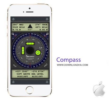 Compass%2b%2b PRO 3.3 نرم افزار قطب نما Compass++ PRO v3.3 مخصوص آیفون و آیپد