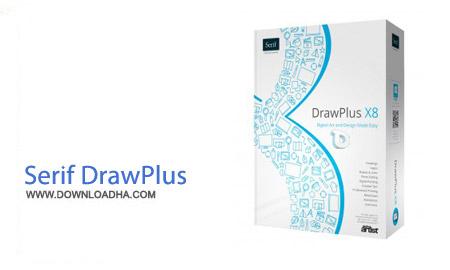 Serif DrawPlus X8 v14.0.0.19 نرم افزار طراحی حرفه ای Serif DrawPlus X8 v14.0.0.19