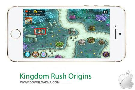 Kingdom Rush Origins 1.4 بازی استراتژیک Kingdom Rush Origins v1.4 مخصوص آیفون ، آیپد و آیپاد