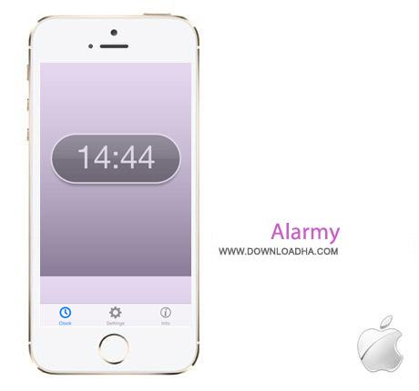 Alarmy نرم افزار ساعت زنگ دار Alarmy v2.65 مخصوص آیفون ، آیپد و آیپاد