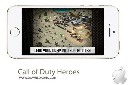 Call of Duty Heroes 1.1 بازی ندای وظیفه: قهرمانان Call of Duty Heroes v1.1.1 مخصوص آیفون و آیپد