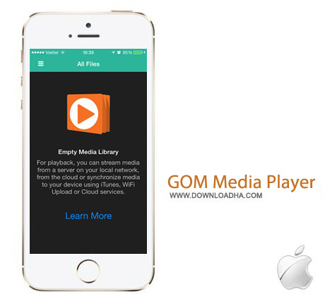 GOM Media Player 1.0 نرم افزار پخش کننده محبوب GOM Media Player v1.0 مخصوص آیفون و آیپد