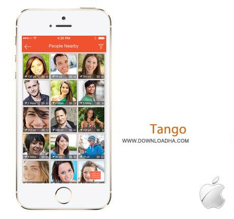 Tango 3.12 نرم افزار تانگو Tango v3.12.11 مخصوص آیفون و آیپد