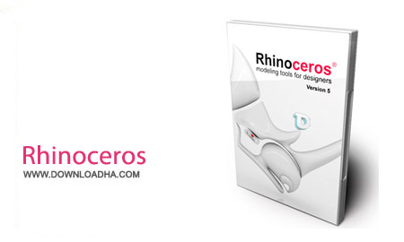 Rhinoceros v5.12.50810.13095 SR12 نرم افزار طراحی قطعات صنعتی Rhinoceros v5.12.50810.13095 SR12