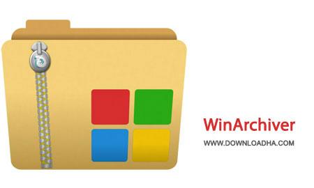WinArchiver%20v3.9 نرم افزار مدیریت انواع فایل های فشرده WinArchiver v3.9