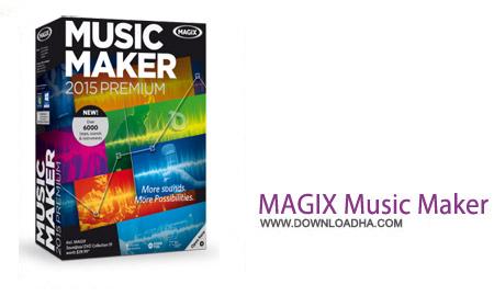 MAGIX Music Maker 2015 نرم افزار ساخت حرفه ای آهنگ MAGIX Music Maker 2015 Premium 21.0.1.30