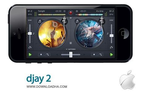 djay%202%202.7 نرم افزار میکس آهنگ djay 2 v2.7.3 مخصوص آیفون ، آیپد و آیپاد