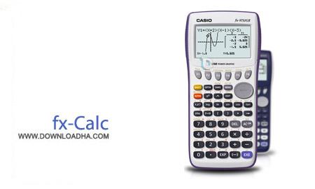 fx Calc 4.5.0.0 نرم افزار ماشین حساب fx Calc 4.5.0.0