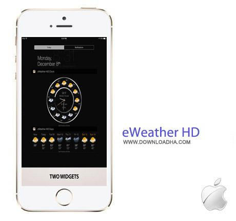 eWeather HD 3.3 نرم افزار هواشناسی eWeather HD v3.3 مخصوص آیفون ، آیپد و آیپاد