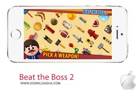 Beat the Boss 2 2.8 بازی کتک زدن رییس Beat the Boss 2 v2.8.0 مخصوص آیفون و آیپد