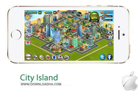 City Island 1.4 بازی استراتژیک سیتی ایسلند City Island v1.4.3 مخصوص آیفون و آیپد