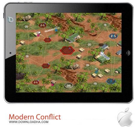 Modern Conflict HD 1.2 بازی استراتژیک Modern Conflict HD v1.2.2 مخصوص آیفون و آیپد