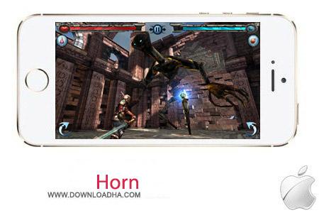 Horn 1.7 بازی جنگی Horn v1.7 مخصوص آیفون ، آیپد و آیپاد