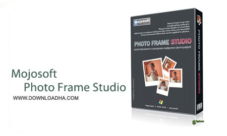Mojosoft Photo Frame Studio 3.00 نرم افزار ساخت قالب عکس Mojosoft Photo Frame Studio 3.00