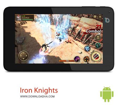 Iron Knights 1.4.2 بازی اکشن Iron Knights v1.4.2 مخصوص اندروید