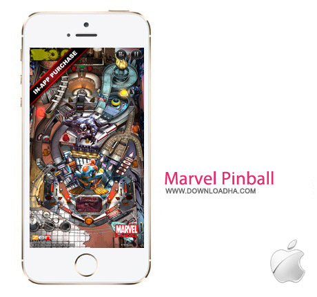 Marvel Pinball 1.5 بازی پین بال Marvel Pinball v.1.5.1 مخصوص آیفون و آیپد