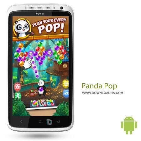 Panda Pop v3.2 بازی پازل Panda Pop v3.2 مخصوص اندروید