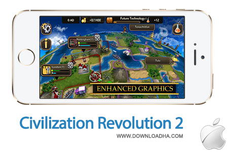 Civilization%20Revolution%202%201.5 بازی استراتژی Civilization Revolution 2 v1.5.4 مخصوص آیفون ، آیپد و آیپاد