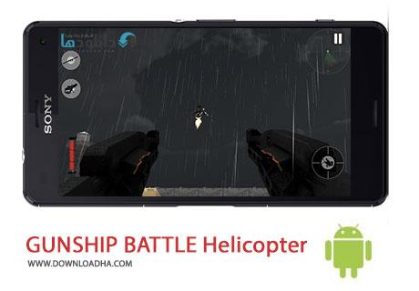 Gunship%20Battle%20v1.8.6 بازی هدایت هلیکوپتر Gunship Battle v1.8.6 مخصوص اندروید
