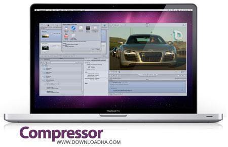 Compressor%20v4.2.1 نرم افزار کنترل فیلم های ساخته شده Compressor v4.2.1 مخصوص مک