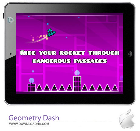 Geometry Dash v1.921 بازی فکری هندسه Geometry Dash v1.921 مخصوص آیفون ، آیپد و آیپاد