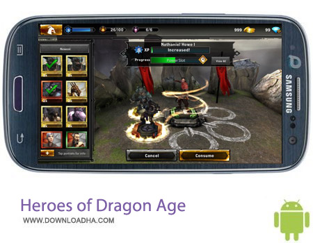 Heroes of Dragon Age v4.2.0 بازی اکشن Heroes of Dragon Age v4.2.0 مخصوص اندروید