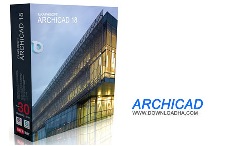 ArchiCAD%20v19 نرم افزار طراحی ساختمان ArchiCAD v19 مخصوص مک