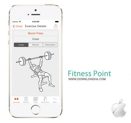 Fitness Point Pro 5.0 نرم افزار تناسب اندام Fitness Point Pro v5.0.2 مخصوص آیفون و آیپد