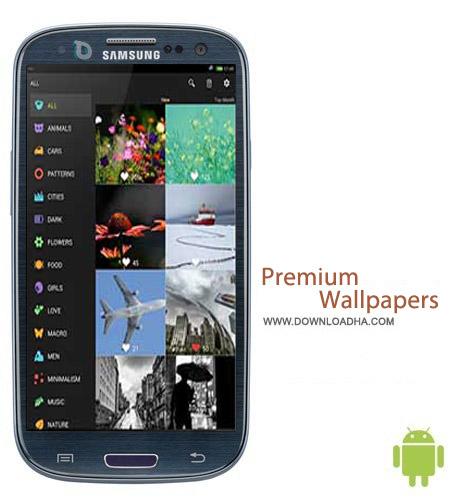 Premium Wallpapers HD V4.3.0 نرم افزار تصاویر پس زمینه Premium Wallpapers HD v4.3.0 مخصوص اندروید