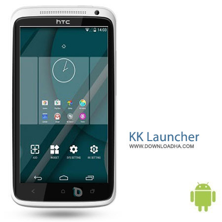 KK Launcher v6.7 نرم افزار لانچر کاکا KK Launcher v6.7 مخصوص اندروید